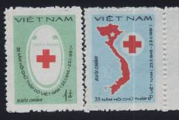 Vietnam Viet Nam MNH Perf Stamps 1982 : 35th Anniversary Of Vietnamese Red Cross (Ms393) - Vietnam