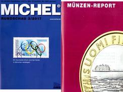 Neu MICHEL Briefmarken Rundschau 3/2017 6€ Stamps Of The World Catalogue/magacine Of Germany ISBN 978-3-95402-600-5 - Libros & Software