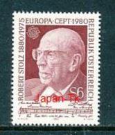 ÖSTERREICH   Mi.Nr. 1652  Europa- Bedeutende Persönlichkeiten - MNH - 1945-.... 2. Republik
