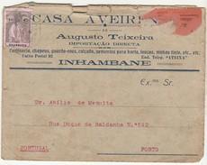 Cover * Casa Aveirense De Augusto Teixeira * Inhambane * Moçambique - Advertising