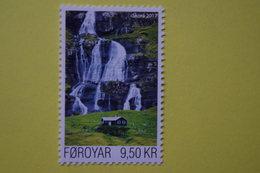 3-1373 Cascade Wasserfall Cascada Cascata Feroe Eau Water