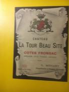 3589 -    Château La Tour Beau Site 1974 Côtes Fronsac - Bordeaux