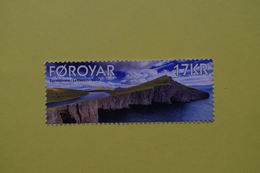 3-1376 Feroe Ile Du Nord Pole North Arctic Arctica Arctique Falaise Nuage