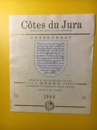 3590 -    Côtes Du Jura Chardonnay 1988 - Blancs