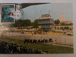 IMOLA AUTODROMO PARTICOLARE TRIBUNE E TRAGUARDO CAMPIONATI MONDIALI CICLISMO SU STRADA 1968  FRANCOBOLLO - Imola