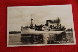 Finland Ship Steamship S/S Ilmatar - Finnland