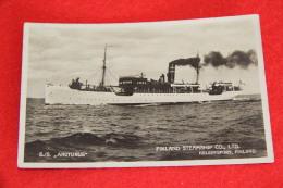 Finland Ship Steamship S/S Arcturus - Finnland