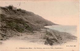 """Cpa 14 VILLERS-sur-MER  Les Falaises , Vues De La Villa """"Espérenza"""" , Colorisée, Animée, En Très Bon état - Villers Sur Mer"""
