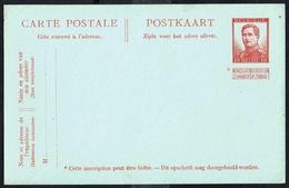 EP N° 48  -  Non Circulé - Not Circulated - Nicht Gelaufen. - Entiers Postaux