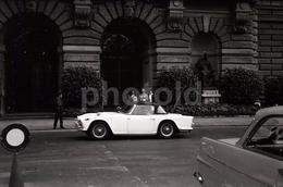 60s TRIUMPH TR 4 SUISSE SWITZERLAND SWISS 35mm AMATEUR NEGATIVE NOT PHOTO NEGATIVO NO FOTO - Autres