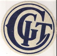 "C. G. I. T. Badge  6"" Diameter   15 Cm Diameter - Pin's (Badges)"