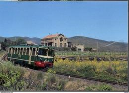 285 FCE - Ferrovia Circumetnea ADe 20 Calderara Catania Rairoad Treain Railweys Treni Chemin De Fer Sicilia - Stations Without Trains