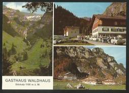STÖCKALP OW Melchtal Melchsee-Frutt Gasthaus WALDHAUS 1981 - OW Obwalden