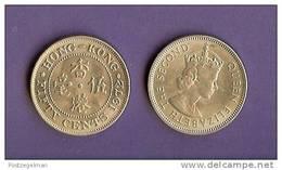 HONG KONG 1972-1973 Used Coin 50 Cents Reeded Edge KM34 - Hong Kong
