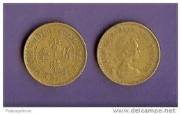 HONG KONG 1977-1980 Used Coin 50 Cents  KM41 - Hong Kong