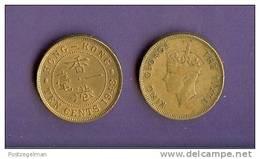 HONG KONG 1948-1950 Used Coin 10 Cents  KM25 - Hong Kong