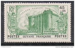GUYANE N°152 N** REVOLUTION - Guyane Française (1886-1949)