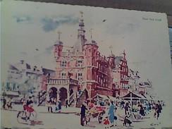 NEDERLAND HOLLAND PAYS-BAS - OVERIJSSEL - DEVENTER - De Waag VB1961 STAMP TIMBRE 4 +4 CT SINTERKLAAS GA13054 - Amsterdam