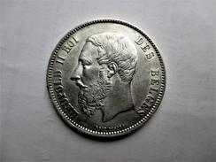 Belgique 5 Francs 1873 - 09. 5 Francs
