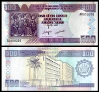 Burundi 500 FRANCS 2007 P 38d UNC - Burundi
