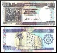 Burundi 500 FRANCS 2003 P 38c UNC - Burundi