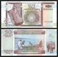 Burundi 50 FRANCS 2005 P 36e UNC - Burundi