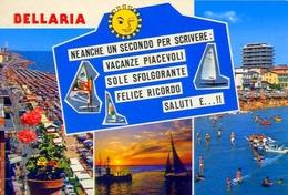 Bellaria - Rimini - 9302-1 - Formato Grande Viaggiata – E1 - Rimini