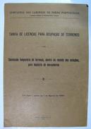 Brochure Brochura Chemins De Fer Caminhos De Ferro Railway 1947. 8 Pages 31,3x21,3 Cm - Boeken, Tijdschriften, Stripverhalen