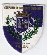 PATCH- PORTUGAL BRAGA  BOMBEIROS SAPADORES BRAGA FIREMAN'S FIREMEN VINTAGE - Firemen