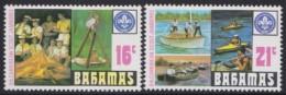 Bahamas   .     SG    .     2  Zegels       .      **    .       Postfris   .   /    .    MNH - Bahama's (1973-...)