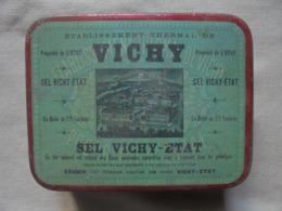 Ancienne Boite De SEL VICHY-ETAT - Scatole