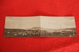 Føroyar Færøerne Faroe Islands Faeroes Thorshavn Double View Rare+++++ Ed. A. Brend - Faroe Islands