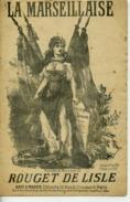 PARTITION CAF CONC MILITARIA LA MARSEILLAISE HYMNE ROUGET DE LISLE ALTERNATIVE 1912 - 1914-18
