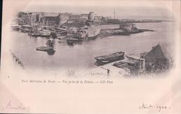 Port Militaire De BREST Vue Prise De La Pointe (1900) - Brest