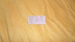 BILLET TRES CIRCULE 1 / UNA LIRA . BIGLIETTO DI STATO A CORSO LEGALE N°423476 - 121. ANNEE 1944 ?. - Italia – 1 Lira