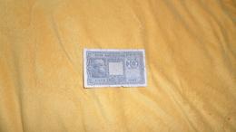 BILLET TRES CIRCULE 10 / DIECI LIRE . BIGLIETTO DI STATO A CORSO LEGALE N°610079 - 0445. ANNEE 1944 ?. - [ 1] …-1946 : Kingdom