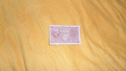 BILLET TRES CIRCULE 5 / CINQUE LIRE . BIGLIETTO DI STATO A CORSO LEGALE N°427228 - 0730. ANNEE 1944 ?. - [ 1] …-1946 : Kingdom