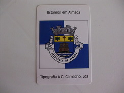 Tipografia A.C.Camacho, Lda Almada Portugal Portuguese Pocket Calendar 2004