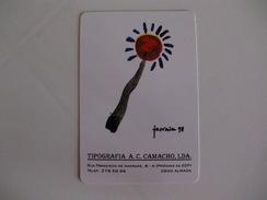 Tipografia A.C.Camacho, Lda Almada Portugal Portuguese Pocket Calendar 1998