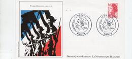 France  Marianne Type Liberté De Delacroix 4,00 Frs 3/11/1982 Paris (YT 2244 ) - FDC