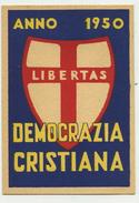Tessera Democrazia Cristiana (DC) Anno 1950 - Autres Collections