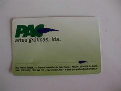 Artes Graficas PAC Feijo Almada Portugal Portuguese Pocket Calendar 2005