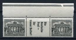 33801) BERLIN Zusammendruck W 40 Postfrisch Aus 1952, 95.- € - Neufs