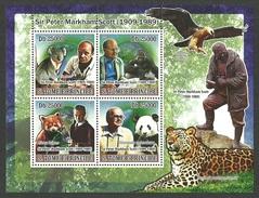 ST THOMAS AND PRINCE 2008 WWF PETER SCOTT PANDA KOALA GORILLA M/SHEET MNH. - Sao Tome And Principe