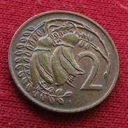New Zealand 2 Cents 1972 KM# 32.1 Lt 153 Nova Zelandia Nuova Zelanda Nouvelle Zelande - Nouvelle-Zélande