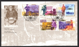 Canada Sc# 1606 FDC Combination 1996 06.13 Yukon Gold Rush - First Day Covers