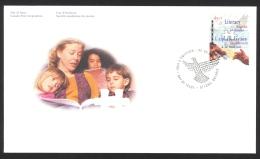 Canada Sc# B13 FDC Single 1996 09.09 Literacy - Premiers Jours (FDC)