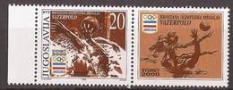 2000 2989-  SYDNEY OLYMPIADE WATERPOLO WASSERBALL  JUGOSLAVIJA JUGOSLAWIEN  MNH