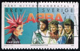 Sweden #2384 ABBA And Kid With Spiked Hair; Used (1.40)__SVE2384-01 - Sweden