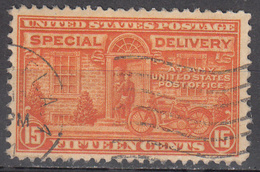 UNITED STATES     SCOTT NO. E16        USED       YEAR  1927       PERF  11X 10.5 - Etats-Unis